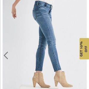 Lucky Brand Hayden High Rise Skinny Jeans